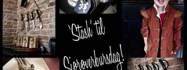 'Stash' til Sjørøverbursdag