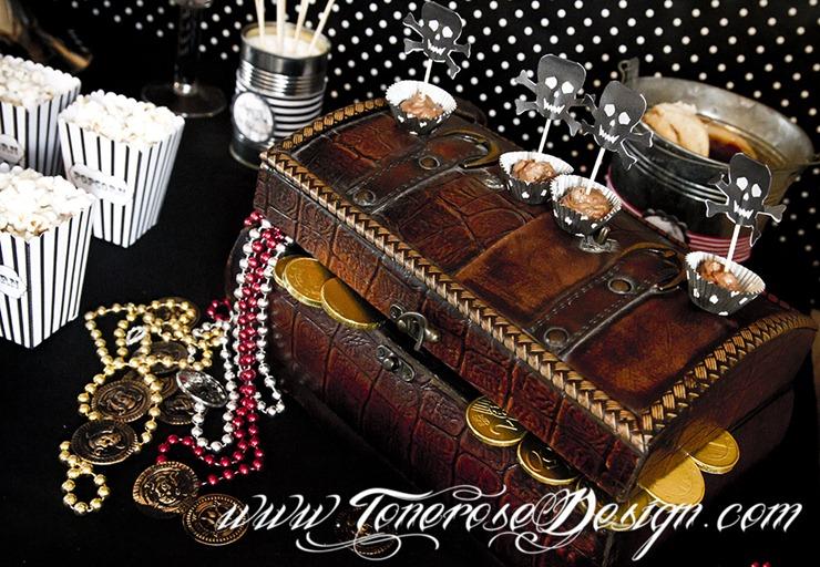 Sjørøverbursdag dessertbord kakebord pirat bursdag sjørøver IMG_5742