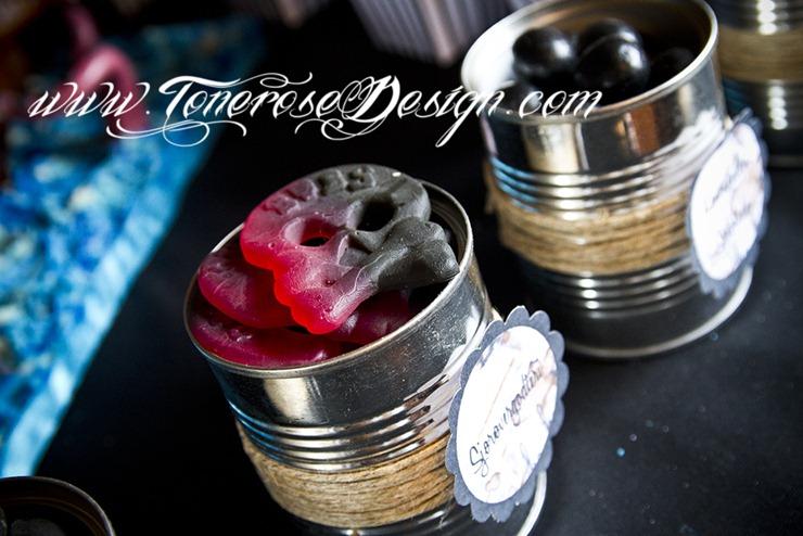 Sjørøverbursdag dessertbord kakebord pirat bursdag sjørøver IMG_5748