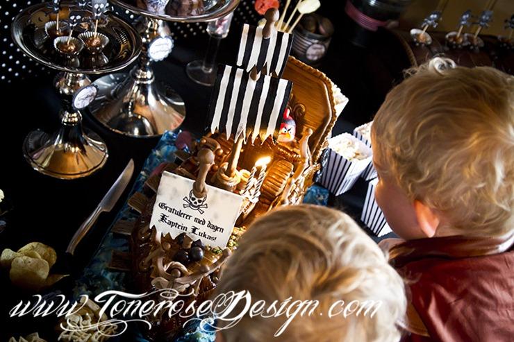 Sjørøverbursdag dessertbord kakebord pirat bursdag sjørøver IMG_5913