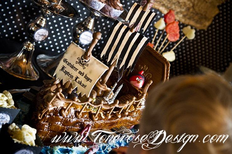 Sjørøverbursdag dessertbord kakebord pirat bursdag sjørøver IMG_5918