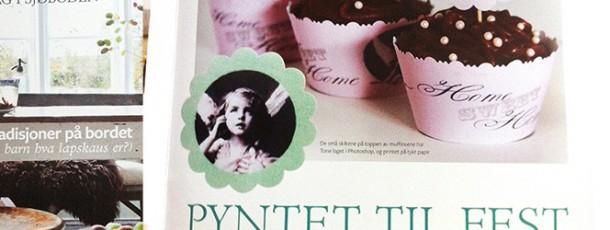 Cupcake Wrappere / 'Muffinskopper' – ToneroseDesign i BoligDrøm ♥