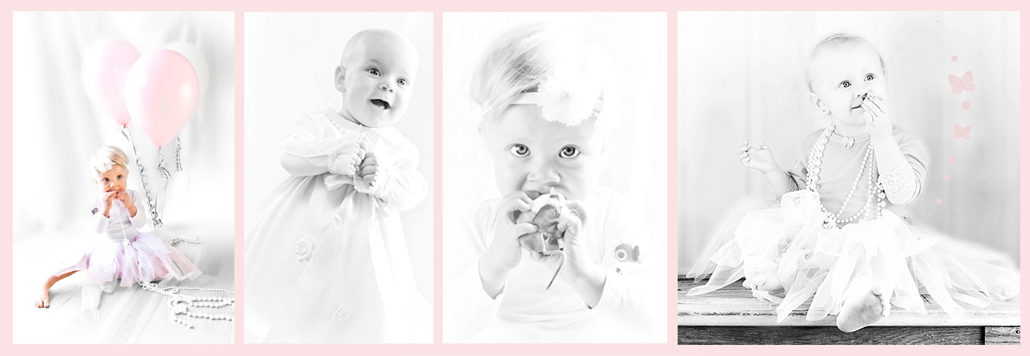 Babyfotografering Designkaker Fotografering Trykksaker Kakebord