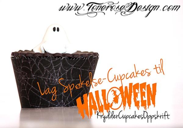spøkelse cupcakes halloween 2