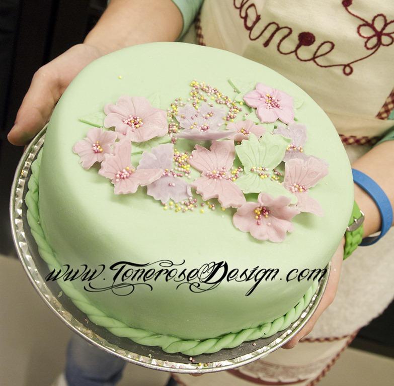 flott sjokoladekake til konfirmasjon