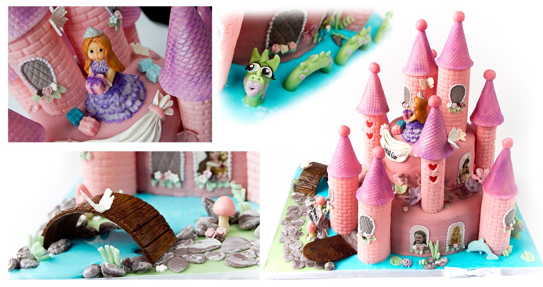 Prinsessekake alt spiselig marsipan