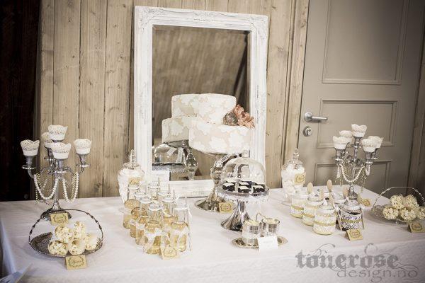 Bildedryss Kakebord/Stand Bryllupsmesse