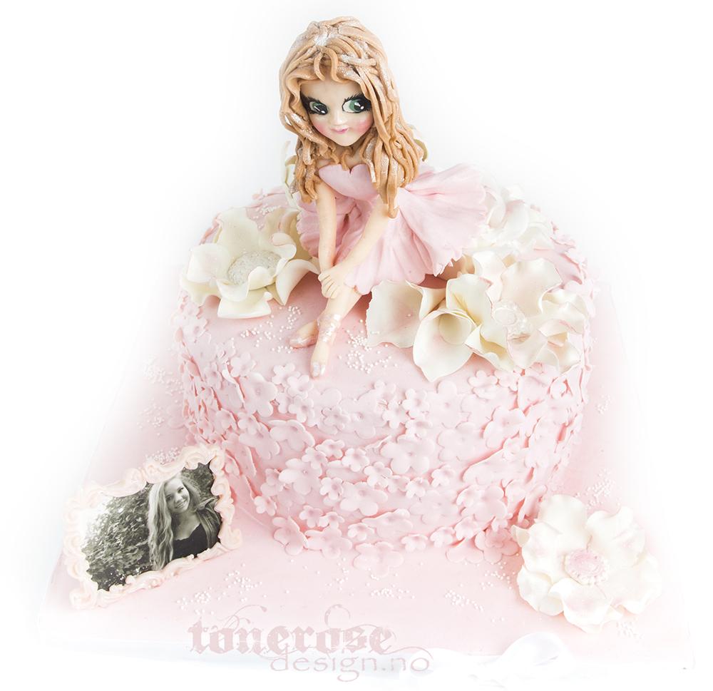 jente bursdag kake