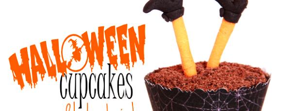 { Reblogging } HalloweenCupcakes – med heksebein!