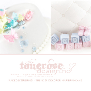 kakedekorering trekk og dekorer kake pynte kake