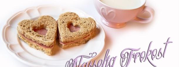 { Valentines Dag // søte brødskiver // reblogging }