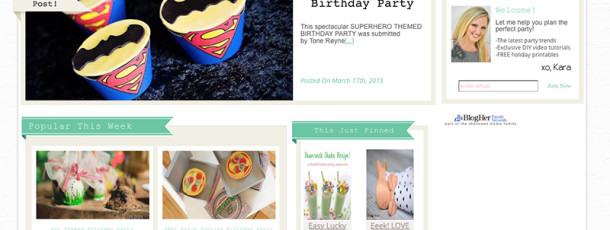 { featured on Karas Party Ideas // Superhero Party }