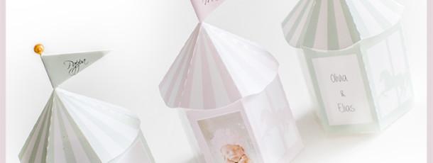 { Gratis print – supersøte bordkort / favorboxes til barnedåp!  rosa // mint // blå // lilla }