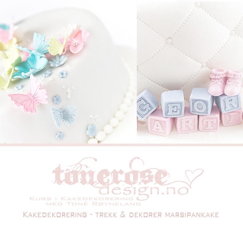 kakedekorering trekk og dekorer kake