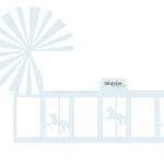 Gratis bordkort barnedåp - karusell ! DIY favorbox - blå