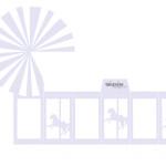 Gratis bordkort barnedåp - karusell ! DIY favorbox - lilla
