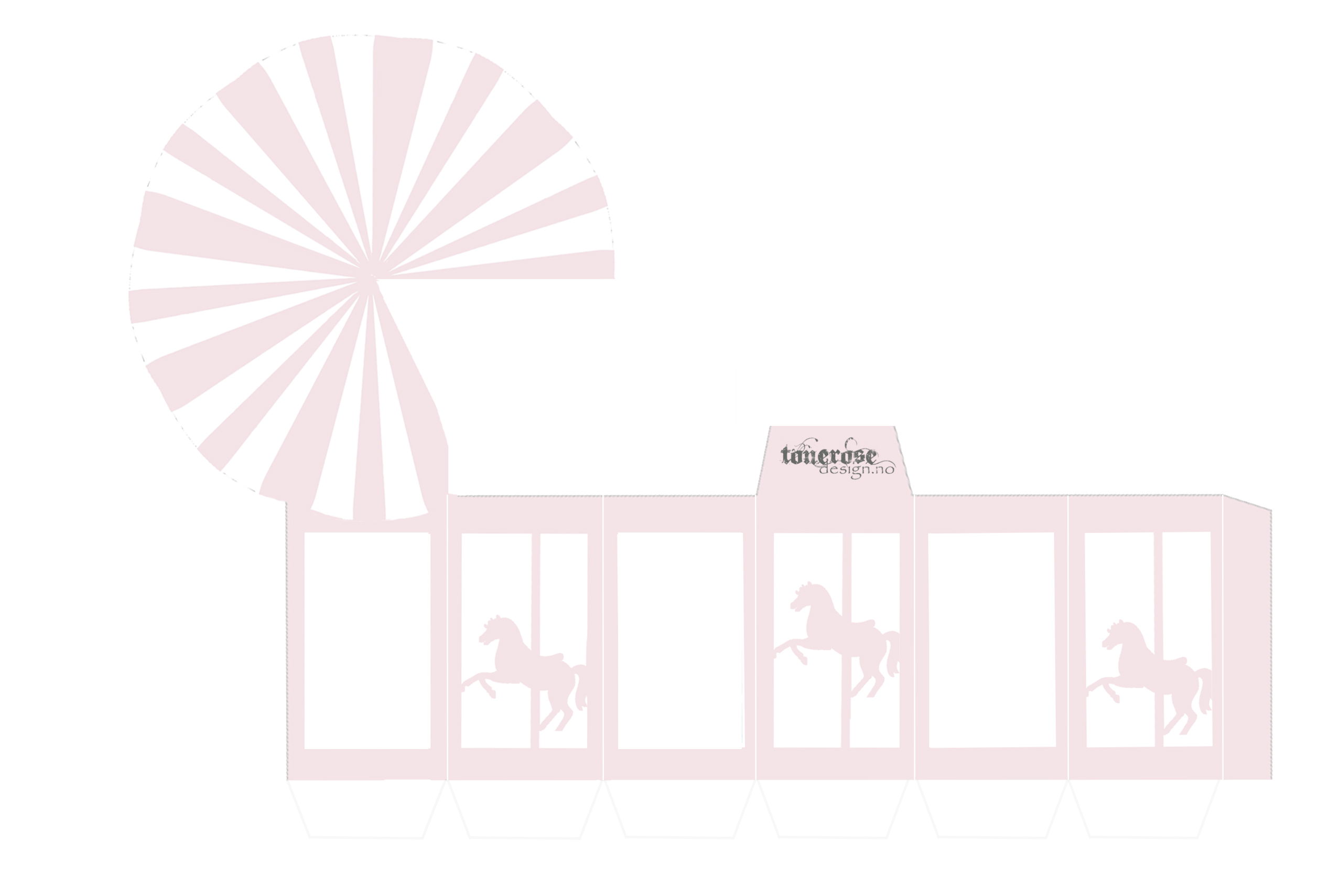 karusell-eske rosa