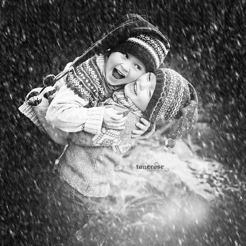 Lukas og Daniel jul