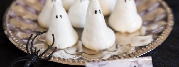 { Enkle Spøkelse-pikekyss til Halloween }