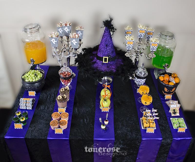 Halloween dessertbord enkelt juksesupermamma