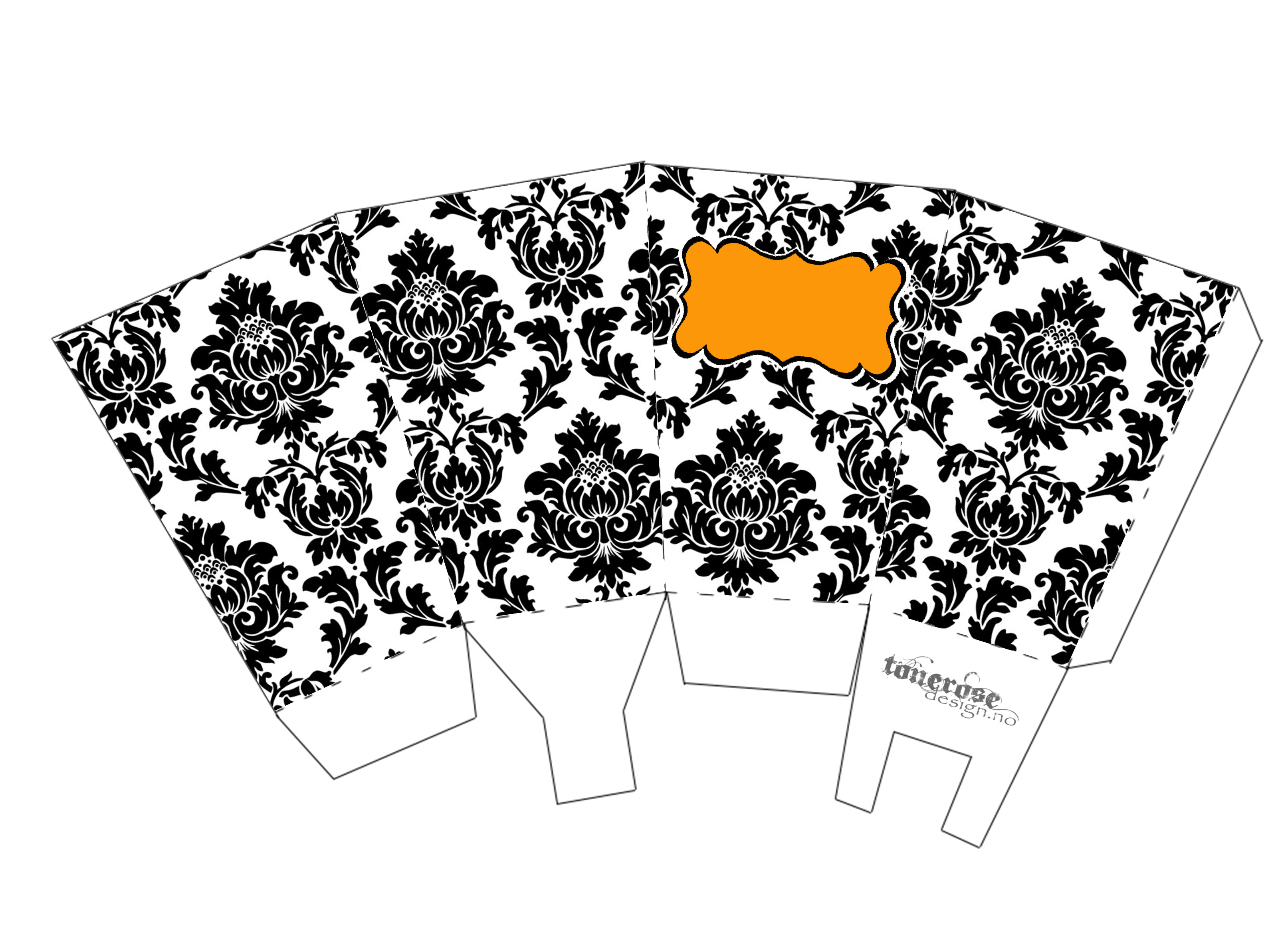 Popcornbeger Halloween GMN damask copy