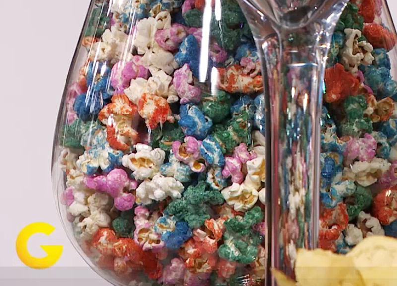 fyrverkeri popcorn oppskrift