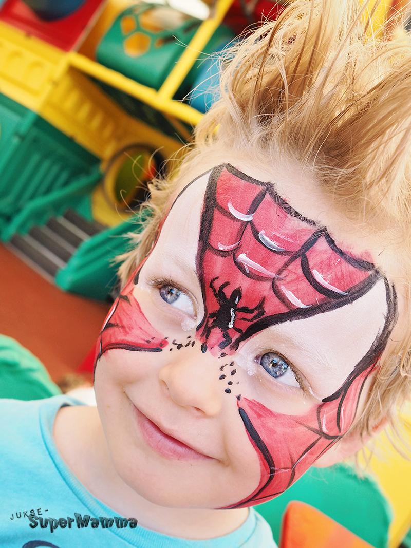 ansiktsmaling_spiderman_bursdag_juksesupermamma