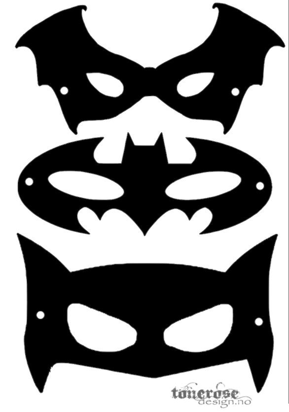 superheltmasker-2 svarte