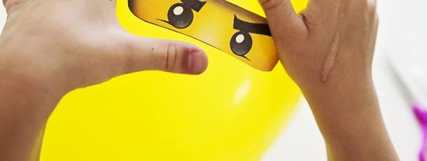 { Ninjago-ballonger DIY }