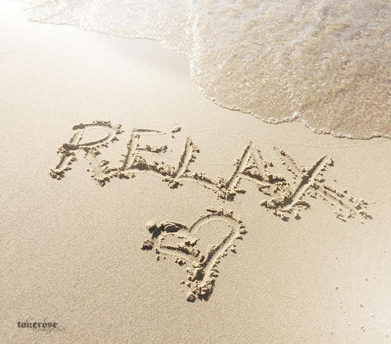 relax på stranda havet sand