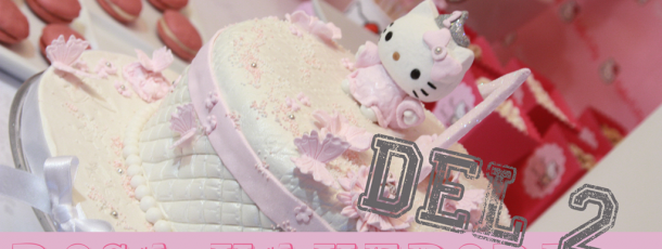 { Hello Kitty bursdag – inspirasjon & tips }