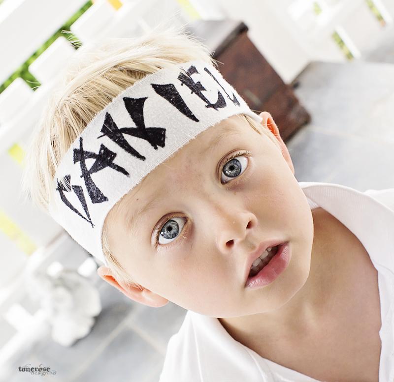 Barnebursdag ninja ninjabånd diy KL5A5184