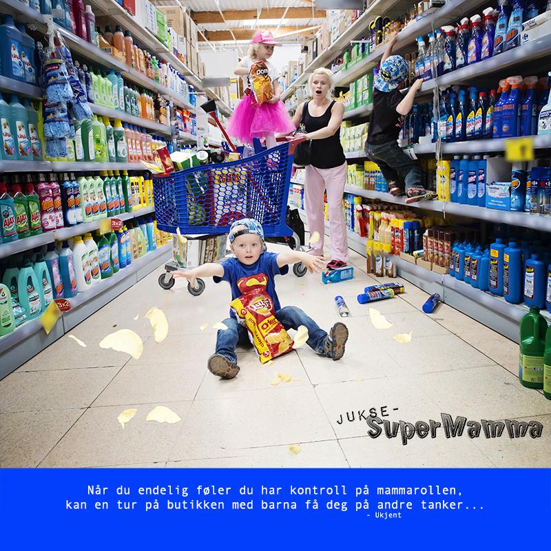 JukseSuperMamma matbutikk med barna KL5A9900