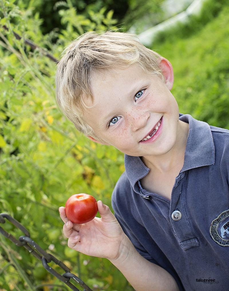 Kjøkkenhage grønnsakshage tomater KL5A3785