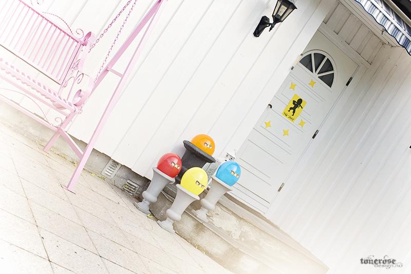Ninja bursdag barnebursdag ninjago ballonger KL5A5101