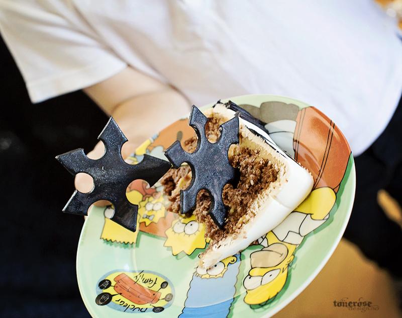 Ninja kake kastestjerne barnebursdag KL5A3749