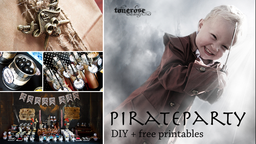 pirate party video diy