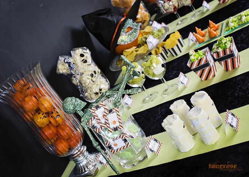 Halloween dessertbord søtsaker ideer KL5A5931