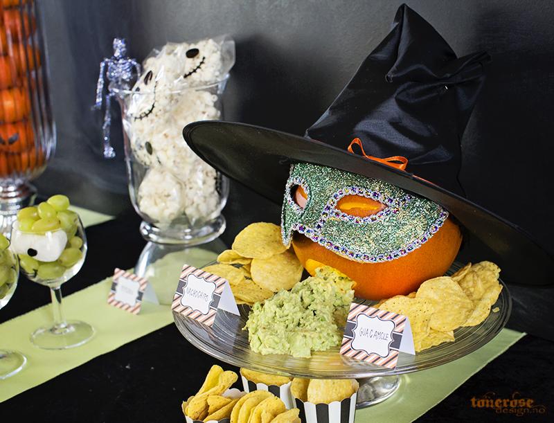 Halloween sweets dessertbord søtasker KL5A5939