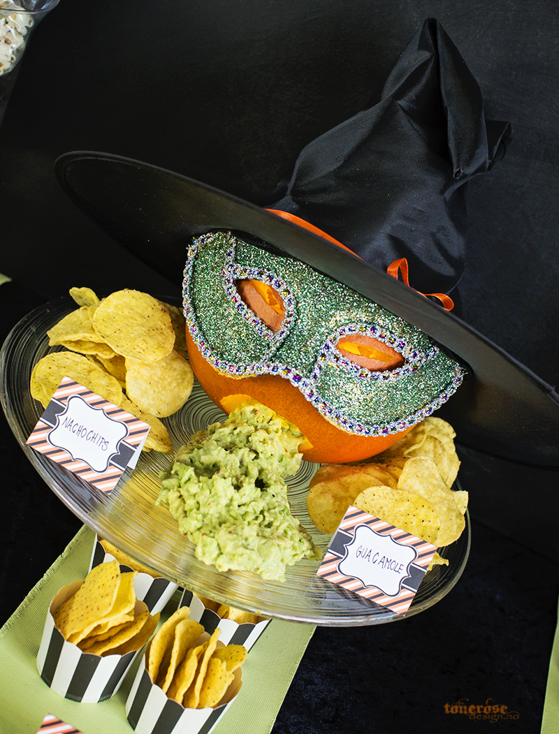 halloween tips chips guacamole gresskar KL5A5902