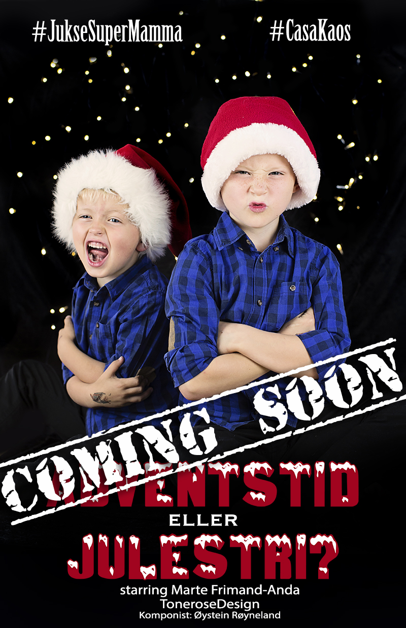teaser julevideo adventstid eller julestri juksesupermamma føkk lykke