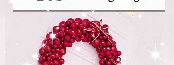 { Nydelig julekrans – lag den selv! }