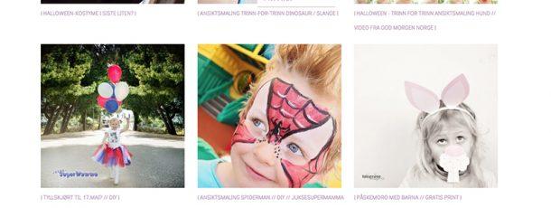 { Gratis kostymer, tips til DIY og ansiktsmaling // Ny kategori på bloggen – KARNEVAL! }