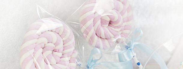 { Digre kjærligheter av marshmallows – lollipop DIY }