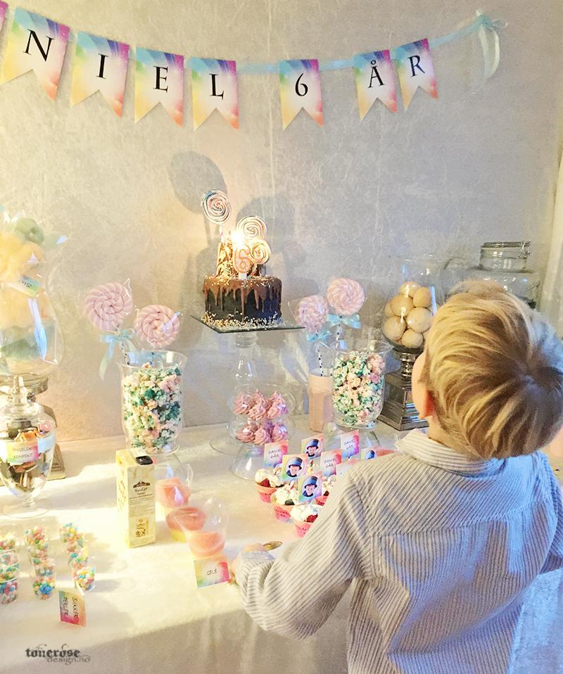 daniel-blase-bursdagskake-lys-dessertbord-barnebursdag