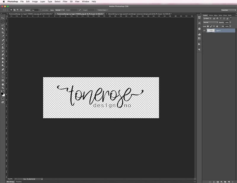 5224c384 Start med den ferdige logoen din, du kan også lage brush av bilder, ev helt  vanlig tekst – eller hva du enn måtte ha lyst til ♥