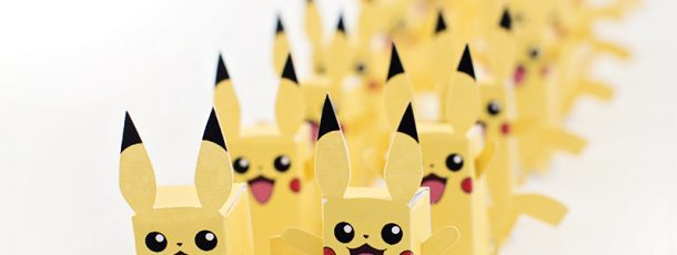 { Gratis DIY esker til Pokemon-party! }