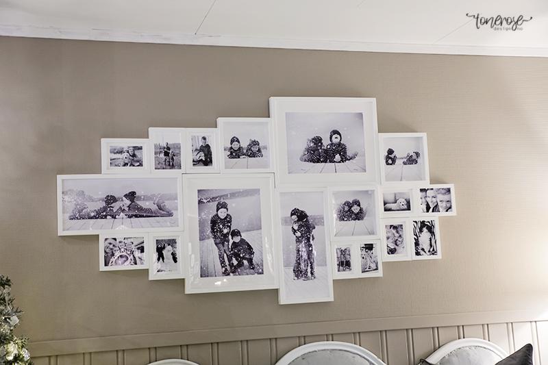 Stor DIY tips til stort bilde/bilder på veggen } - ToneroseDesign MQ-49