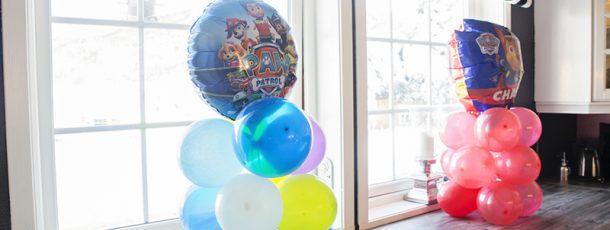 { Ballongdekor til bursdag // DIY }