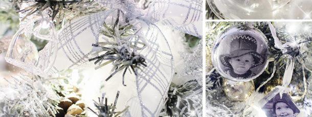 hvit kunstig juletre